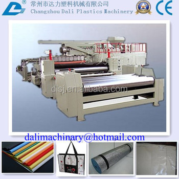 Multifunctional laminating machinery for nonwoven/woven/paper/plastic film/metalic foil