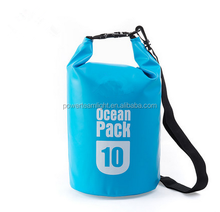 Outdoor Swimming Waterproof Bag Camping Storage Dry Bag with Adjustable Strap Hook