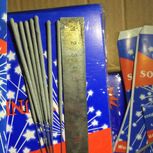 Wholesale 7'' indoor smokeless wedding fireworks golden sparklers