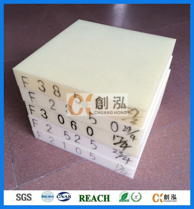 Recycling sponge polyurethane pu foam raw materials