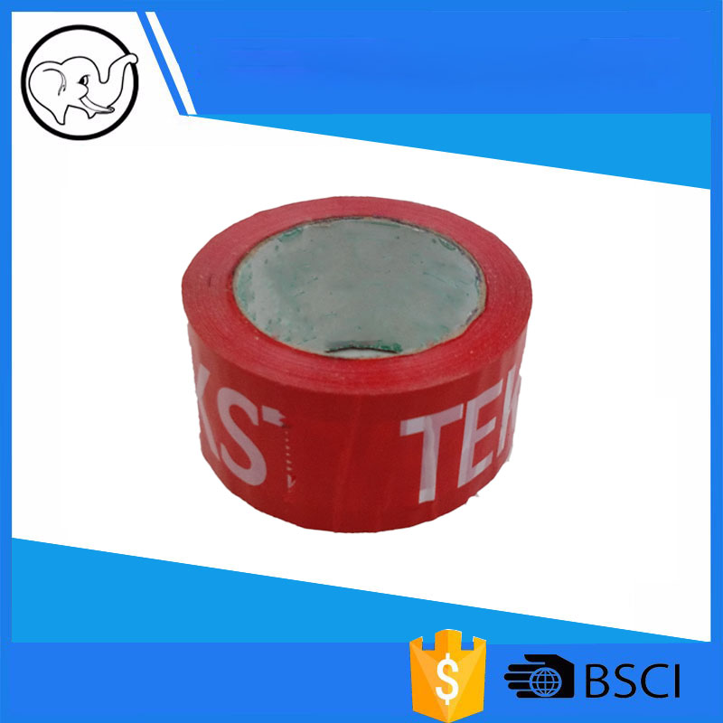 BOPP Packing sealing duct tape custom printed LOGO super clear sellotape