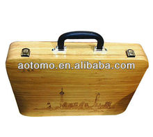 Bamboo mahjong set case