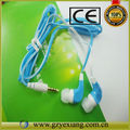 OEM/ODM popular new design in-ear earphone for iphone 5 with mic