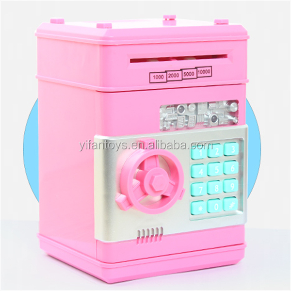 Automatic ATM Money Saving Box electronic mini piggy bank money saving boxes made in china