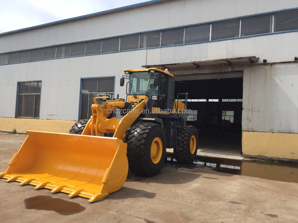 5T 4WD front loader with best oversea service