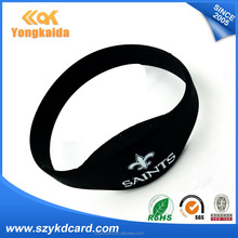Promotional smart ID EM4100/TK4100 wristband/bracelet with different usages