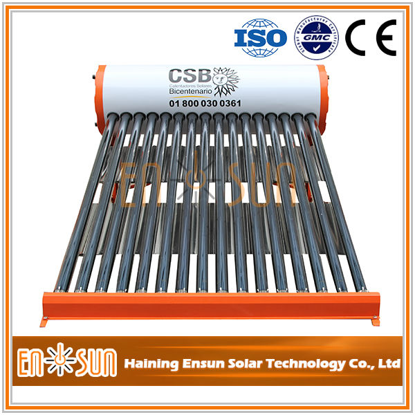 China supplies heat pipe latest design great material solar water heater production line