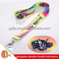 2016 Custom logo design polyester sublimation donkey kong lanyard