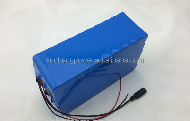 Wholesale safety assured rechargeable 10ah 20ah 48v lithium battery pack for electric scooter