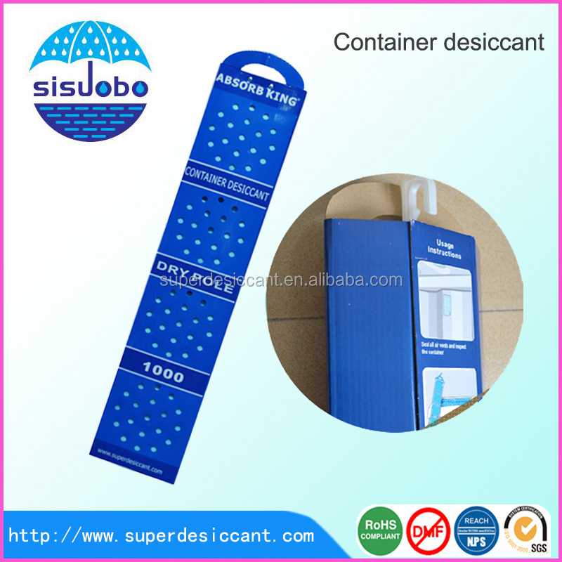 300% moisture absorption rate moisture absorber cargo desiccant packs