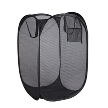 Mesh Folding Pop Up laundry Hamper Basket