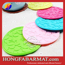 silicone placement, custom silicone coasters