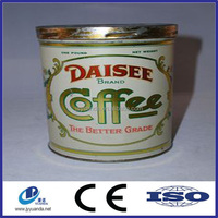 Mini tin can tin ingot coffee tin can packaging sales promotion
