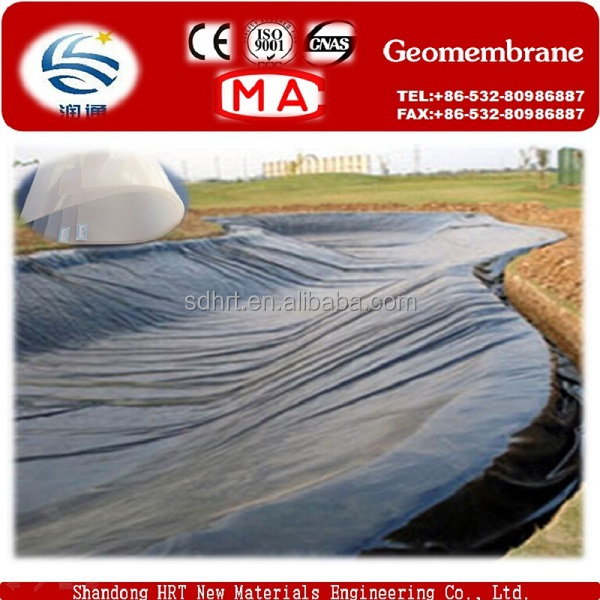 Canal Waterproofing Geomembrane Liner