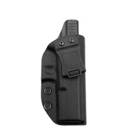 Durable Tactical Concealment Carry IWB Gun Holster Custom Molded For Right Hand Glock 17/22/31