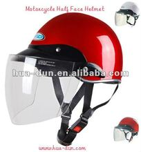 factory direct summer use light weight cheap price abs half face motor helmet for motorcycle