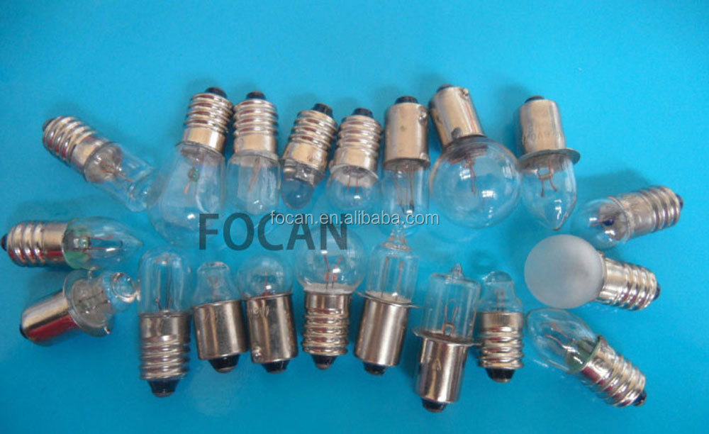 6V T4W E10 BA9S flashlight bulb lamp