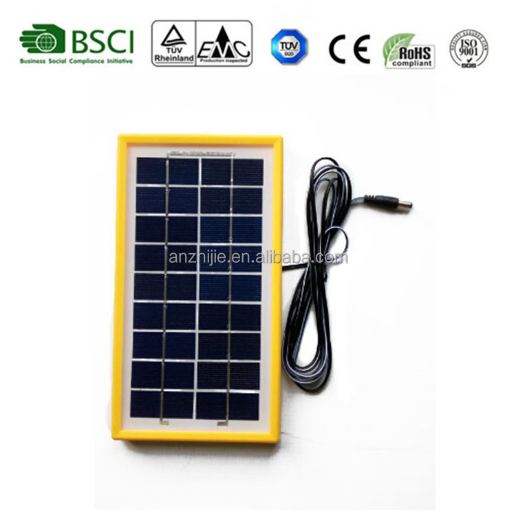 1W,3W,5W small solar panel, small solar module,hot selling in India