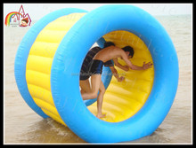 Exciting Inflatable Water Wheel,Water roller Pool Sports Inflatable,Inflatable water pipe roll