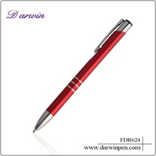 Smooth writing ballpoint pen cheap promotional metal ball pen metal pen