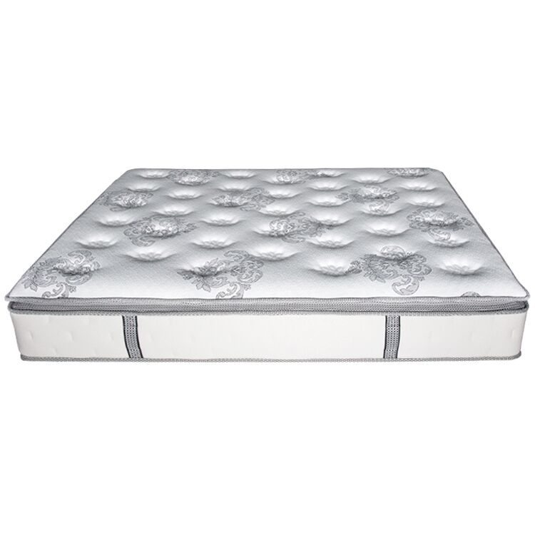 High quality compress queen size mattress box spring bed