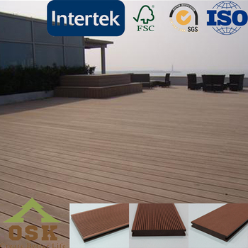 Outdoor WPC decking floor engineer flooring
