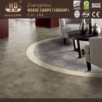 High quality durable using various marble look pvc floor