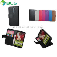 2014 new product wallet case for lg 2 stand leather case for LG 2 waterproof case for lg optimus g2 made in china guangdong