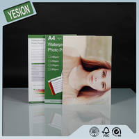 Yesion China Profeiional Manufacture A3 A4 size High Glossy Inkjet Photo Paper 180gsm For Fuji Minilab Printer