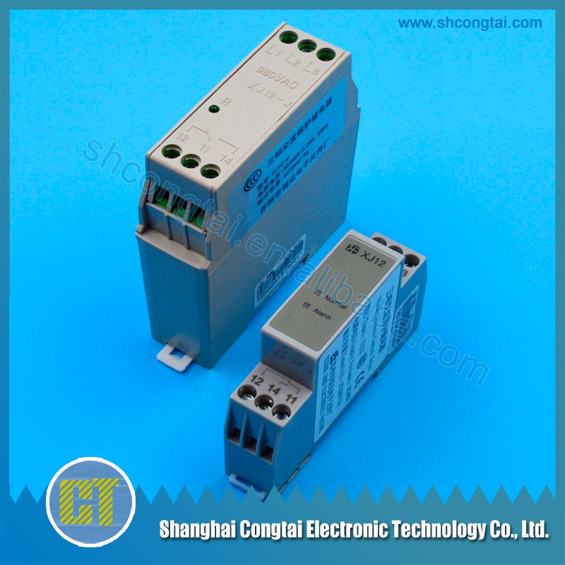 Three phase elevator relay XJ12 for elevator parts