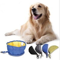Dog Food Water Bowl Protable Folding Pet Bowl for Outdoor