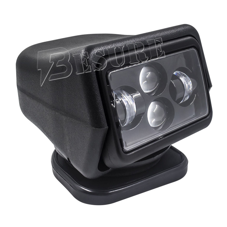 China Manufacturers Wholesale LED Driving Search Light 60W LED Spot Remote 6000K 12V 24V IP65 For Truck