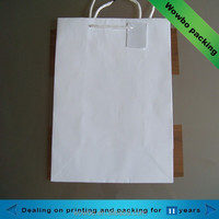 Cheap White Greaseproof Paper Bag for Food