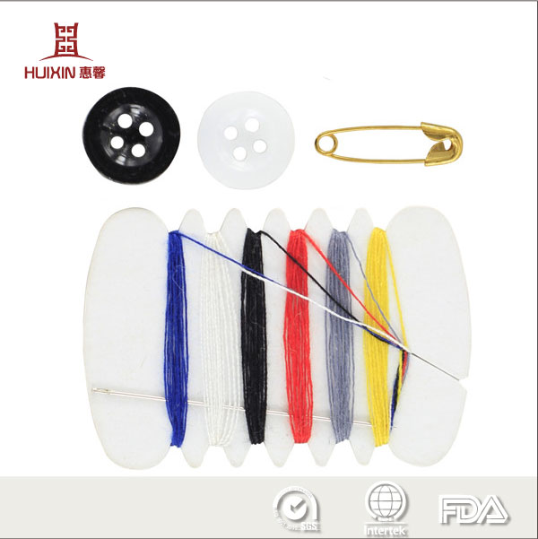 Disposable Sewing Kit for hotel guestroom