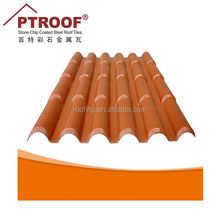 Wholesale high quality plastic spanish synthetic resin roof tile for Portugal