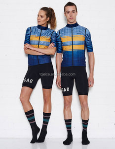 Windproof&Waterproof Sublimation Print Cycling Clothes Breathable Cycling Jersey Manufacturer