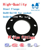 steel flange for PE pipe fittings