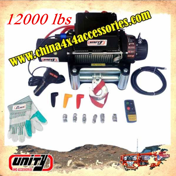 Unity4WD CE certificate 12000lbs Electric Winch