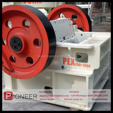 2015 stronger frame iron ore gold mining jaw crusher equipment