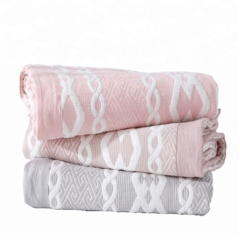 2018 chinese new summer baby moving cotton swaddle blanket