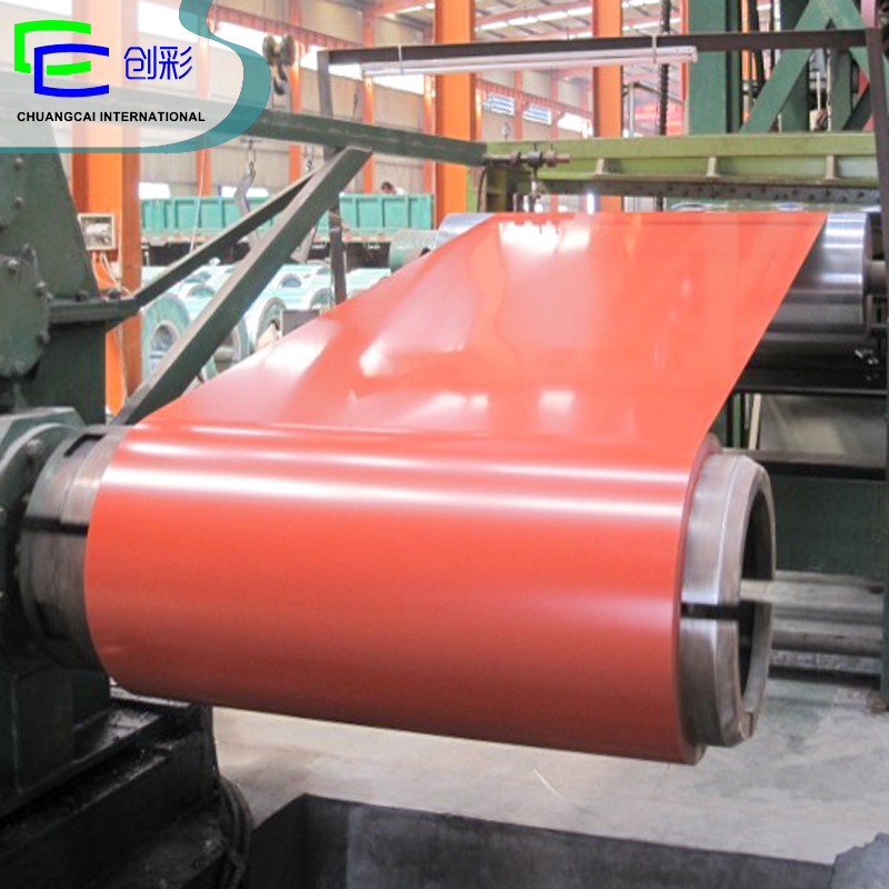 PPGI building materials free samples hot rolled coil prepainted steel Coils