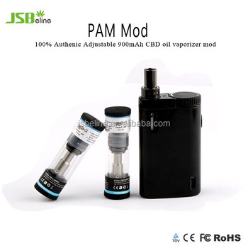 2017 newest zinc alloy CBD-Co2 mini box mod stable magnetic PAM mod bulk medical supplies