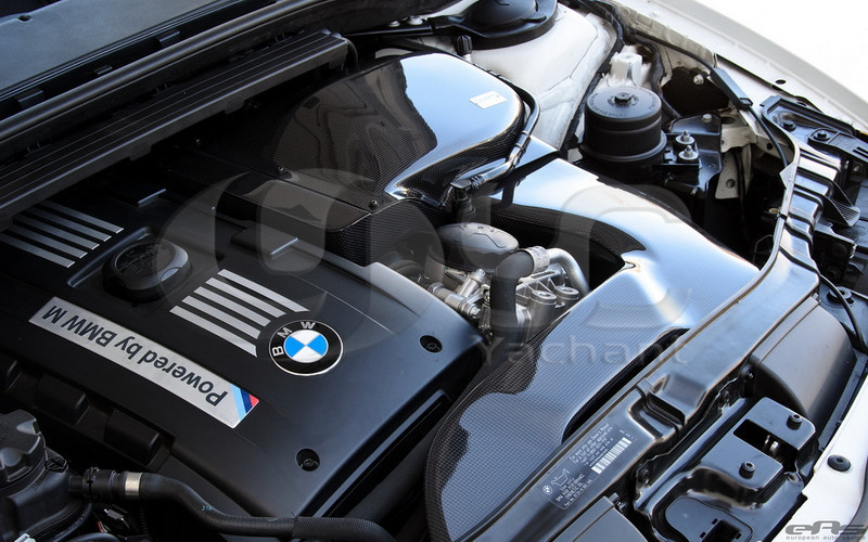 Trade Assurance Carbon Fiber CF Air Intake Kit Fit For 2010-2012 1M Coupe & 135I Gruppe M Style Air Intake Kit