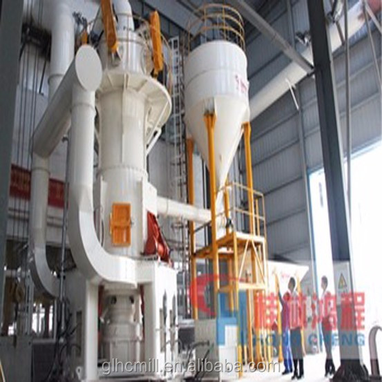 Vertical roller mill for cement slag powder grinding processing