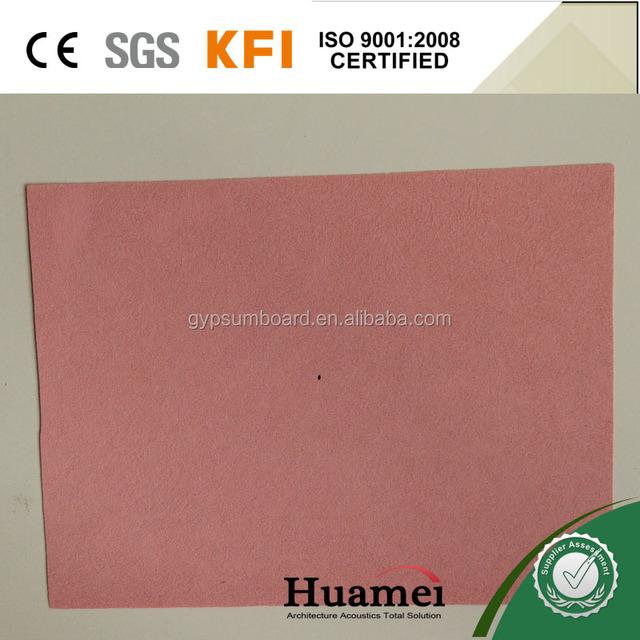 Fiberglass roofing mat/tissue for fiberglass ceiling surface