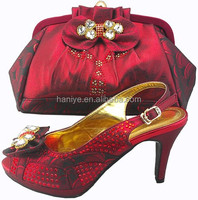 2014 fashion italian party shoes and bags/bruno giordano italian shoe and bag set 130815-04