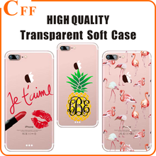 For iPhone 7 Lip Lipstick Designs UV Printing for Girl Hard Transparent Cell Phone Case for Samsung Galaxy S3 S4 S5 Mini Cover