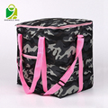 Insulated Double Compartments Extra Large Cooler Lunch Bag with No-Leak Liners