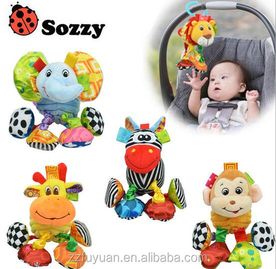 high quality sozzy brand multi-functional soft vibrated plush toys