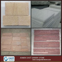 Sand stone for different Color,red,grey,yellow,purple..in kinds of finishing